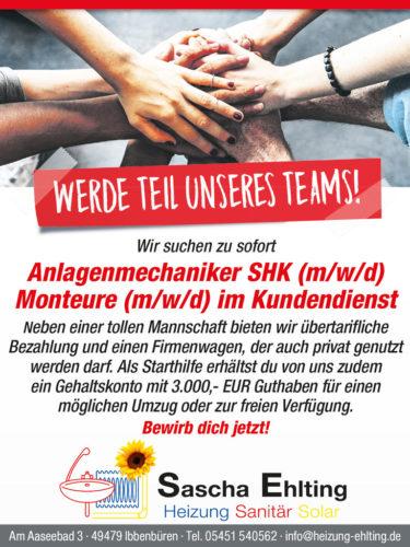 Stellenangebot mit 3000,- Euro Gehaltskonto